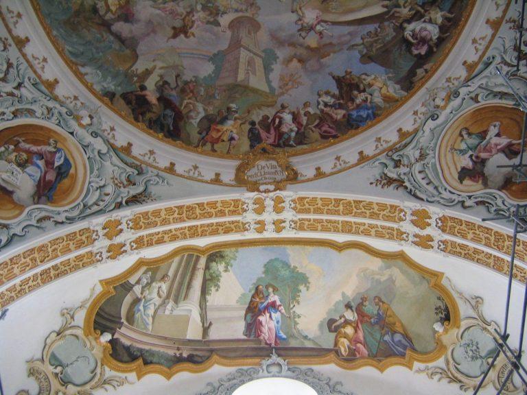 Deckengemälde in der Wallfarhtskirche Marienberg bei Burghausen
