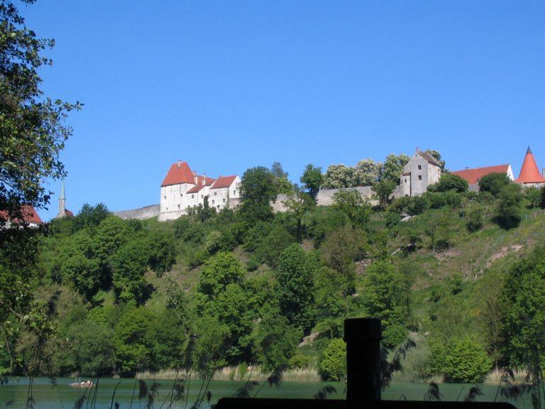 Bestens erhalten - die Burganlage in Burghausen