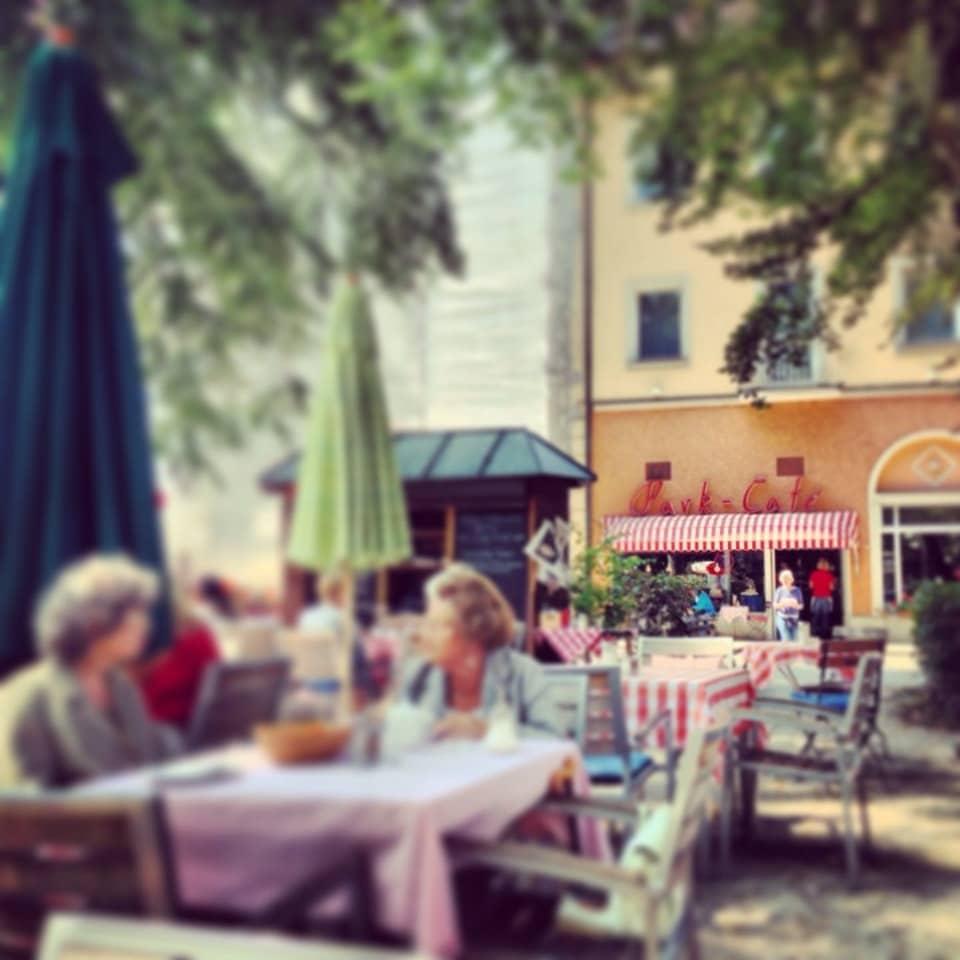 Sonnenterasse Park Café am Stadtpark Traunstein