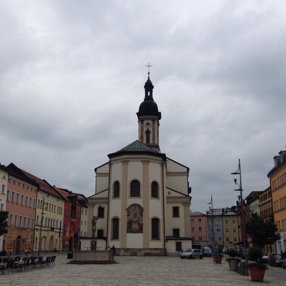 Stadtpfarrkirche St. Oswald in Traunstein