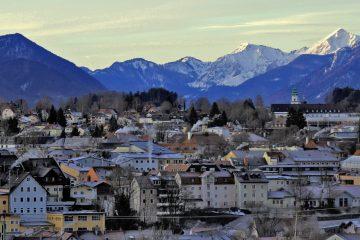 Traunstein - Stadt vor den Bergen mit Geschichte