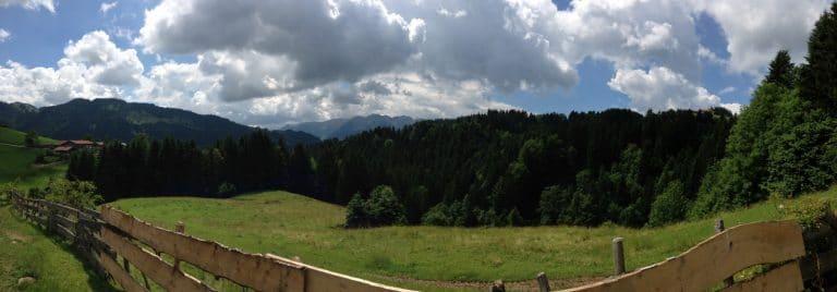 Unterwegs zum Spitzstein